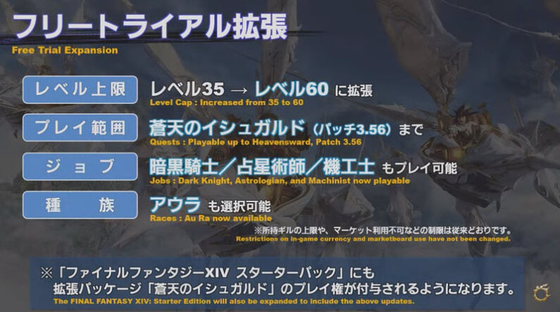 【FF14】フリートライアル拡張【パッチ5.3】