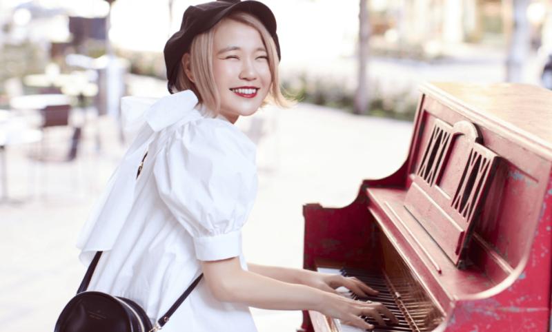 ピアニスト『ハラミちゃん』